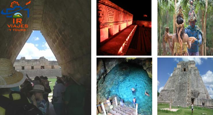 Tour Cenote Choco Story con Uxmal Luz y Sonido