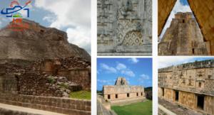 Tour de Campeche a Uxmal con dejada en Mérida