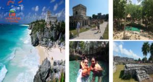 Tour de Cancún a Tulum con Cenote Incluido