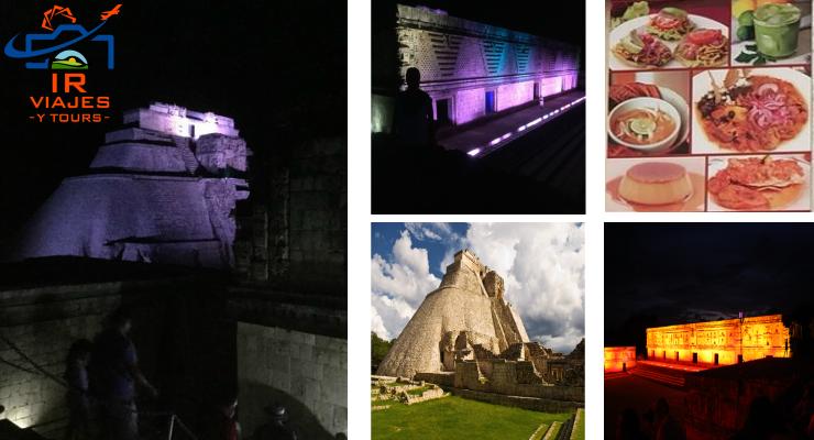 Tour de Noche a Uxmal Luz y Sonido desde Merida