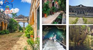 Tour haciendas Mérida con Cenotes