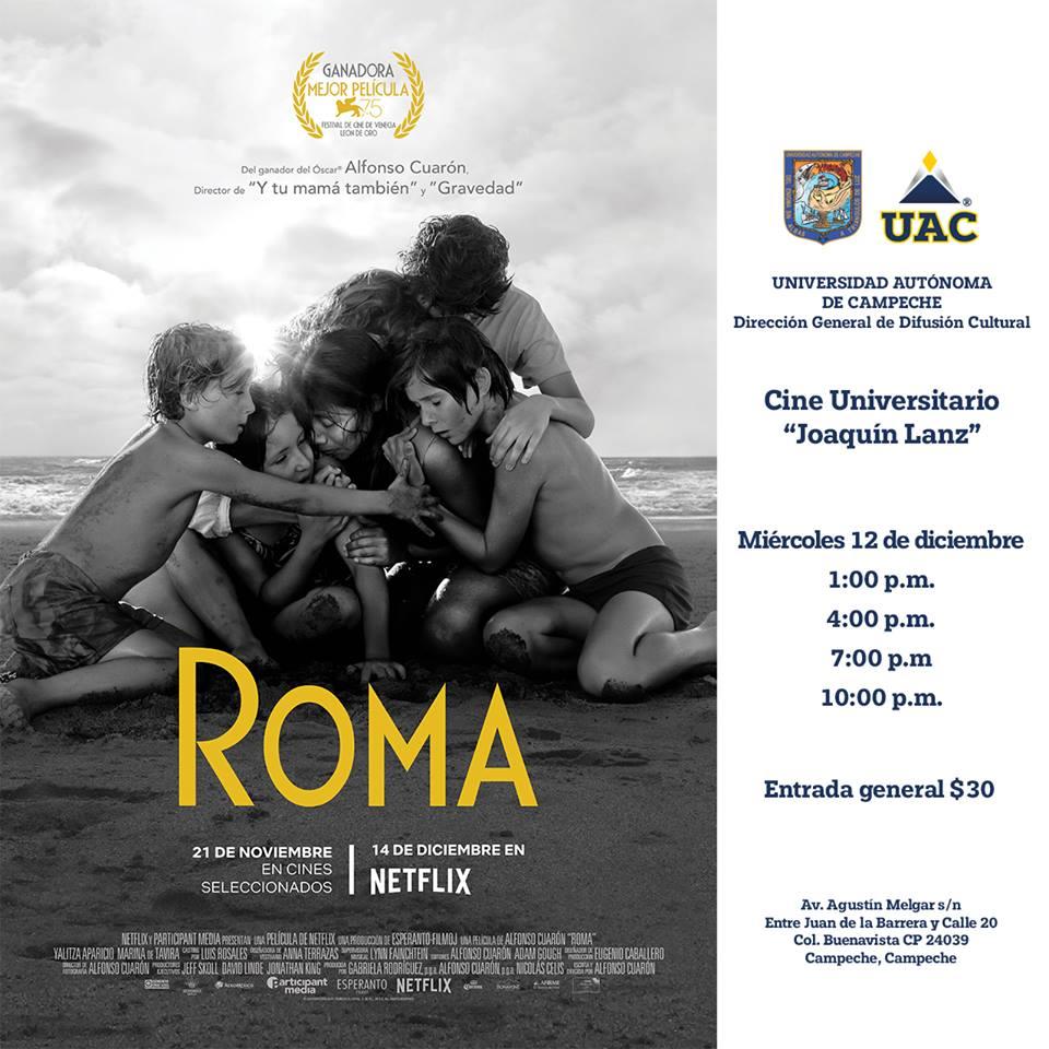 Cine Teatro Joaquín Lanz Pelicula ROMA