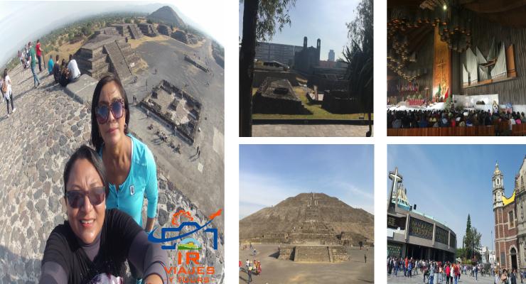 Tour Plaza de las Tres Culturas Basílica Guadalupe y Teotihuacán