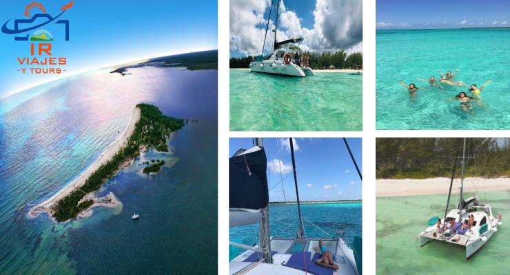 Tour Isla de La Pasion Cozumel en Catamaran