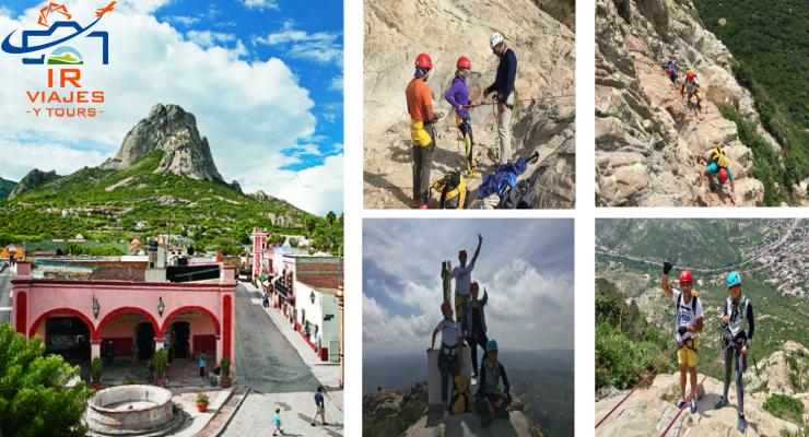 Tour Peña de Bernal Rappel y Escalada Desde Querétaro