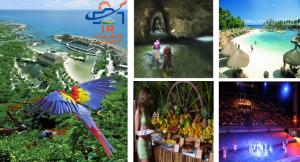 Tour Xcaret Plus Con Show de Noche saliendo de Cancun