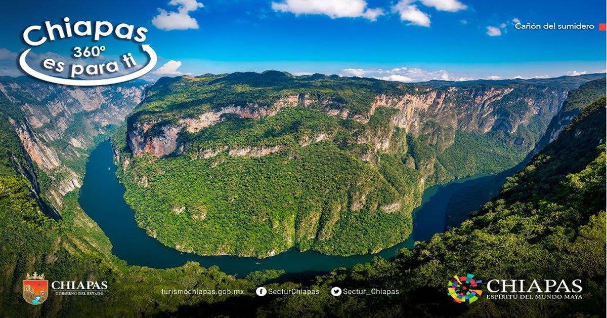Recorrido Turístico Virtual Chiapas 360