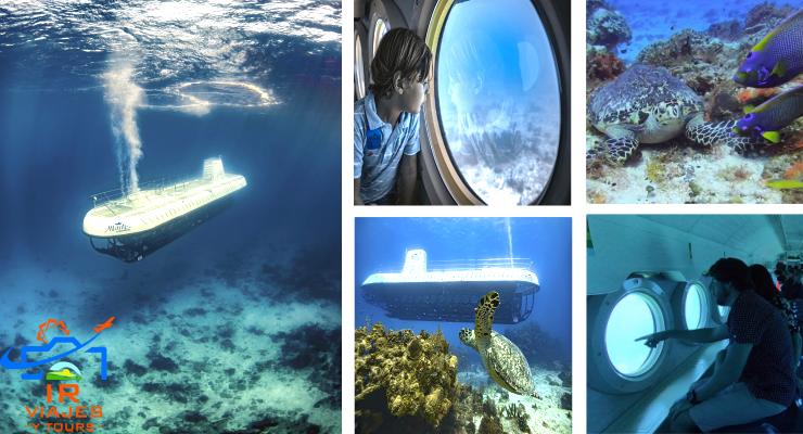 Atlantis Submarino Cozumel Precios Video Horarios