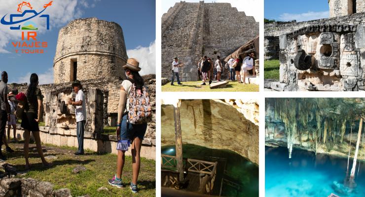 Tour Cenotes Mérida y Zona Arqueológica de Mayapán